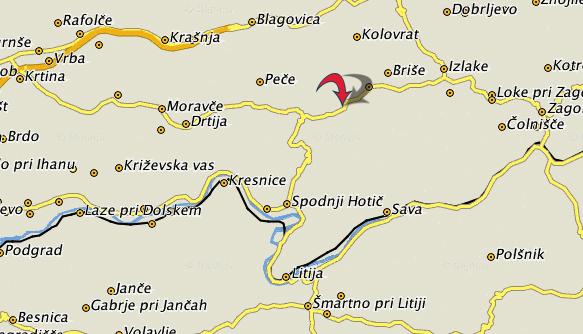 zemljevidvidrga